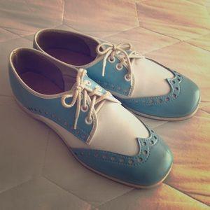 Vintage Saddle Shoes